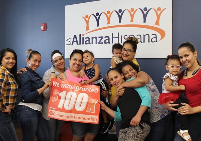 La Alianza Hispana recibió donación de $100,000