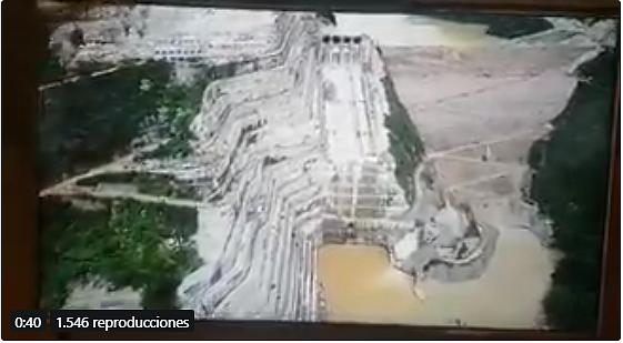 COLOMBIA. El vertedero de Hidroituango