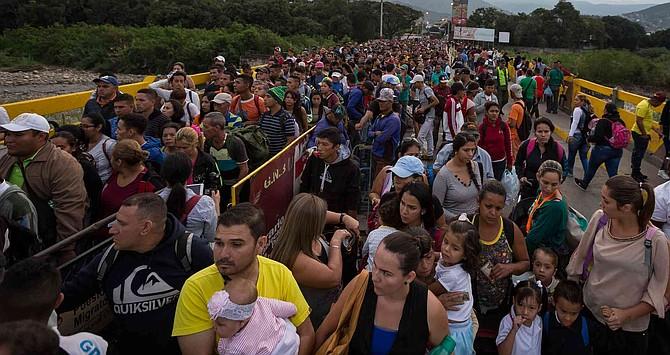 COLOMBIA.  Más de 800.000 venezolanos llegaron en 15 meses: las cifras de la crisis migratoria
