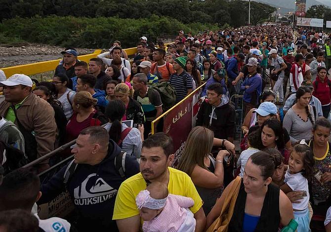 Más de 800 mil venezolanos llegaron en 15 meses a Colombia