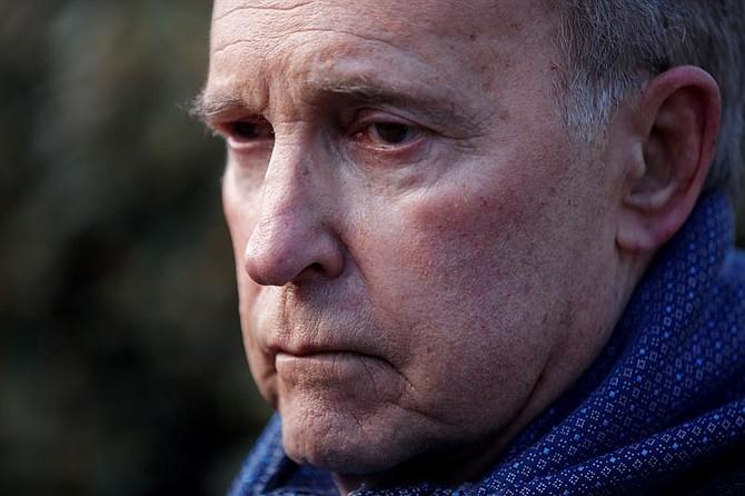 EEUU. Larry Kudlow durante una comparecencia ante los medios en la Casa Blanca, en Washington
