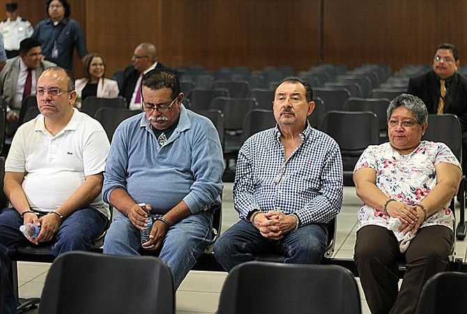JUSTICIA. Los implicados en el caso de corrupción que involucra el expresidente Mauricio Funes