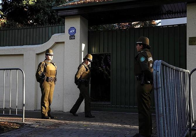 Autoridades chilenas allana Iglesia Católica por pederastia