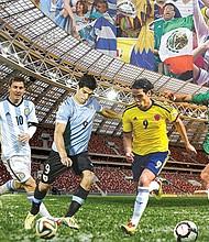 FAVORITOS. Cinco son los equipos latinoamericanos con mayores posibilidades para obtener grandes resultados.