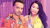 Luis Fonsi y Stefflon Don.