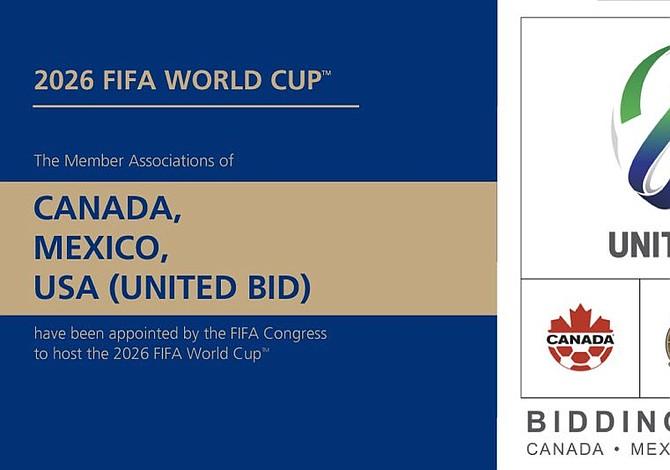 Estados Unidos, Canadá y México serán sede de la Copa del Mundo 2026