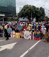 VENEZUELA. Las protestas marcaron la agenda del país