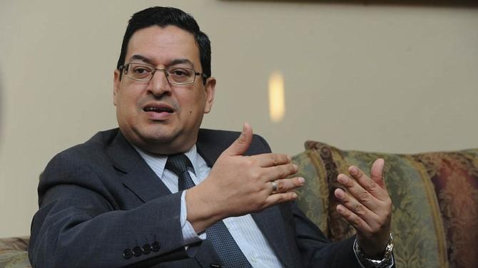 ELSALVADOR. Rodolfo González, magistrado de la Sala de lo Constituciona de la Corte Suprema de Justicia (CSJ).