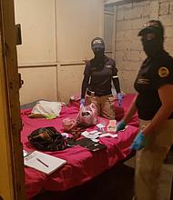 """HONDURAS. Los detenidos son acusados del delito de """"trata de personas en la modalidad de explotación sexual comercial"""