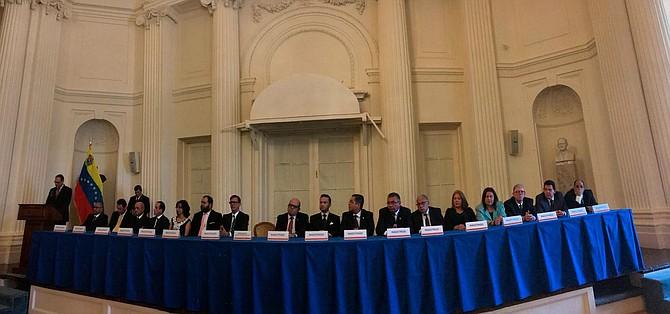 VENEZUELA - Tribunal Supremo de Justicia en el exilio.