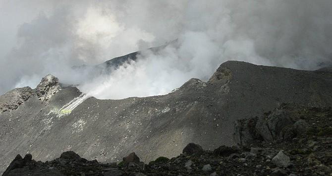 COLOMBIA: Varios sismos se han registrado en el complejo volcánico del Galeras