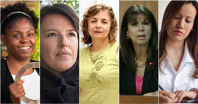 Juegan la analista Sandra Borda, la ex magistrada María Victoria Calle y la doctora Carolina Corcho, entre otras