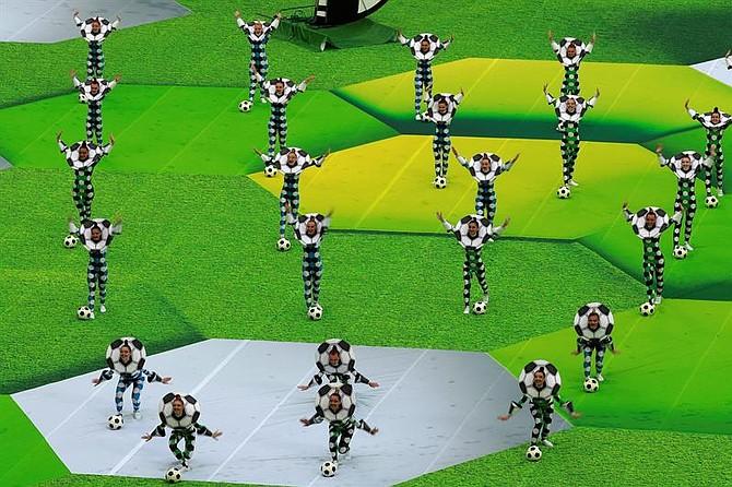 Inauguración de la Copa del Mundo
