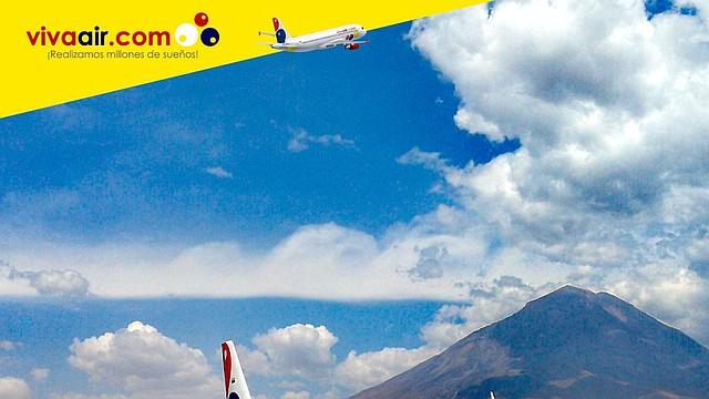 Viva Air Perú podrá volar a 21 países de latinoamérica.