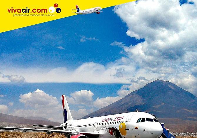 Viva Air Perú podrá volar a 21 países en América latina