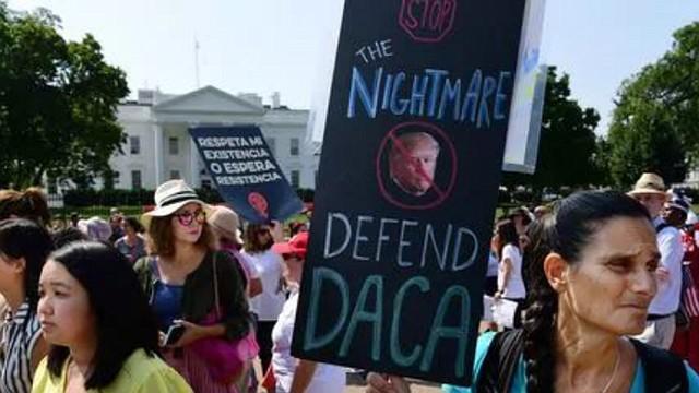 EEUU. El caso de los Dreamers ha sido objeto de manifestaciones
