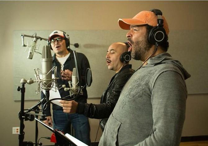 Tres voces, un show y tres rebeldes