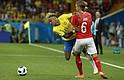 Rusia - La estrella de Brasil, Neymar, aseguró este domingo que cada día se encuentra mejor de su lesión en el tobillo y que, pese al empate cosechado hoy por la Canarinha en su debut mundialista ante Suiza (1-1), sigue manteniendo intacta la ilusión en el torneo.