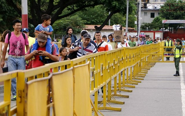 ELECCIONES. Reabren frontera colombo-venezolana este lunes a las 6AM