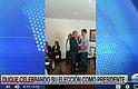 ELECCIONES. El ahora presidente, Iván Duque celebró su triunfo junto a sus familiares y amigos