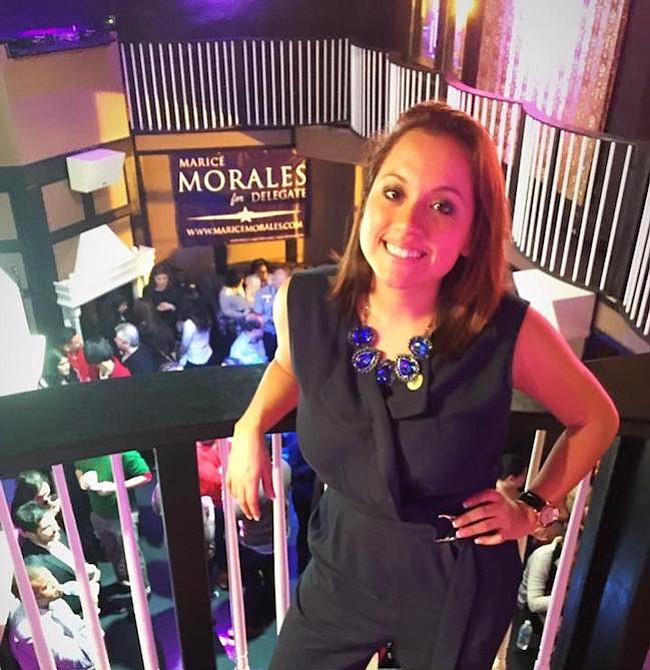 Maricé Morales. Delegada estatal por el distrito 19 de Montgomery, desde 2015.  Es abogada, de ascendencia peruana, busca la reelección.