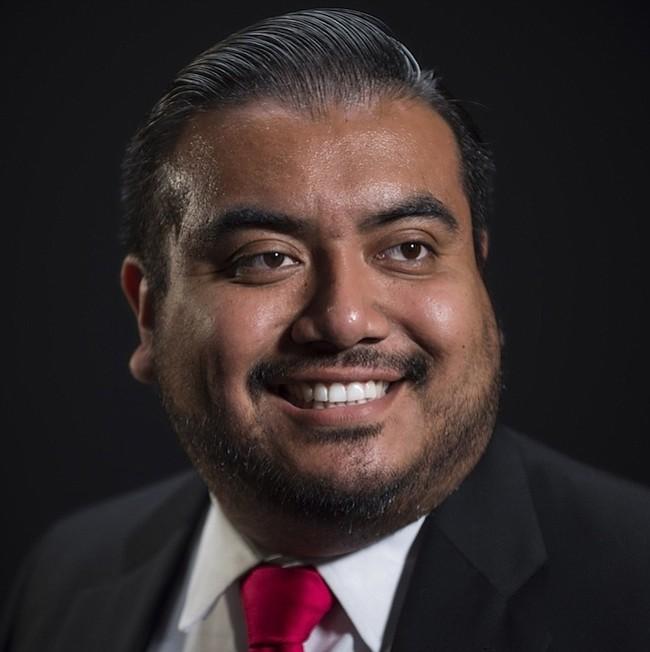 Carlo Sánchez. El delegado estatal por el distrito 47B de Prince George's ha sido el presidente del Caucus Latino en la Asamblea de Maryland. Busca su segundo término.