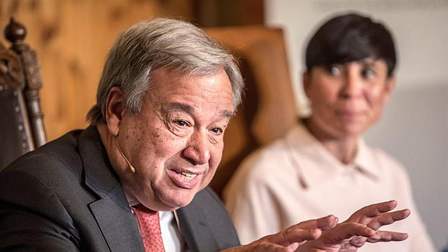 ONU. El secretario general de las Naciones Unidas (ONU), Antonio Guterres