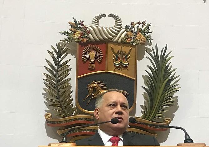 Diosdado Cabello fue designado presidente de la Asamblea Constituyente de Venezuela