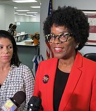 DEJAN CAMPAÑA. Valerie Ervin y Marisol Johnson dejaron la contienda el 13 de junio. La salvadoreña Johnson era la primera latina que se lanzaba como vicegobernadora.