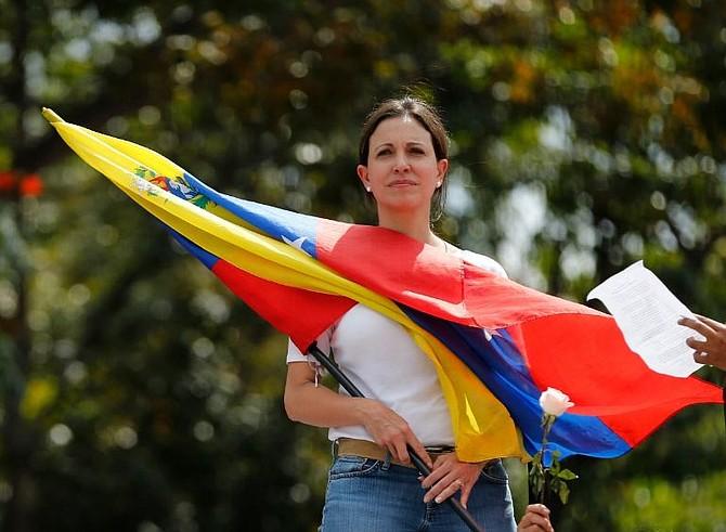 JUSTICIA. María Corina Machado, Coordinadora General del Movimiento Vente Venezuela