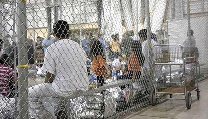 Las jaulas antiinmigrantes de Trump