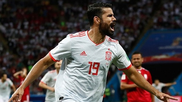 ESPAÑA. Diego Costa anotó el único gol del encuentro