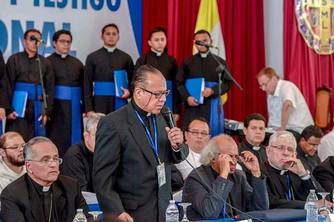 NICARAGUA. Monseñor Abelardo Mata, obispo de Estelí y secretario de la Conferencia Episcopal