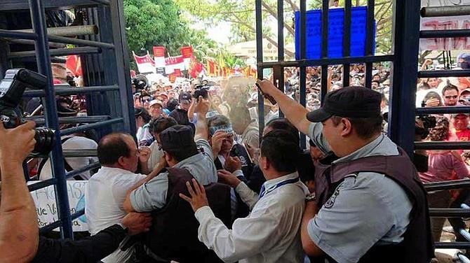 ELSALVADOR. Protestas en El Salvador