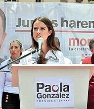 PAOLA GONZÁLEZ. Activista y voluntaria en instituciones sociales desde los 13 años, la joven tomó un curso de gestión pública para el desarrollo de países latinoamericanos para prepararse más.