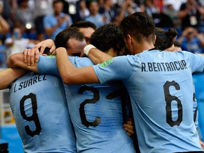 URUGUAY. Celebraro pese a acceder con la ventaja mínima