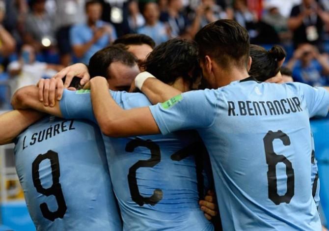Uruguay obtuvo el boleto a octavos de final en el Mundial de Rusia