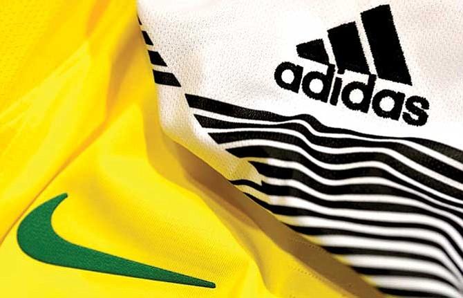 Marcas deportivas luchan por la supremacía en el Mundial
