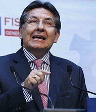 COLOMBIA. Néstor Humberto Martínez, Fiscal General