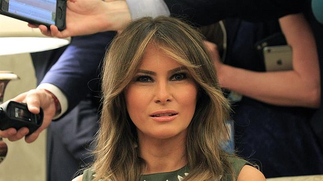 NACIONALES. Melania Trump, primera dama de los Estados Unidos