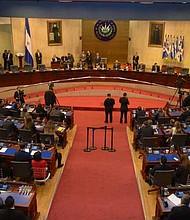 ELSALVADOR. Asamblea Nacional salvadoreña