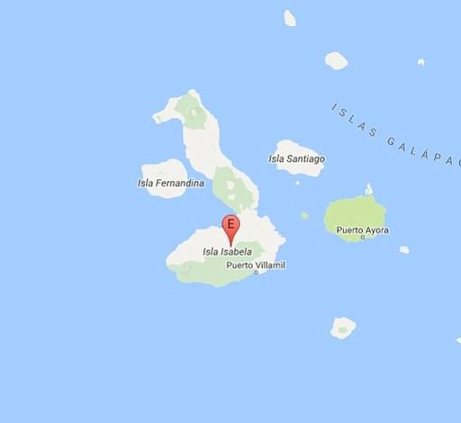 Sismo de magnitud 4,4 sacude la isla del archipiélago Galápagos en Ecuador