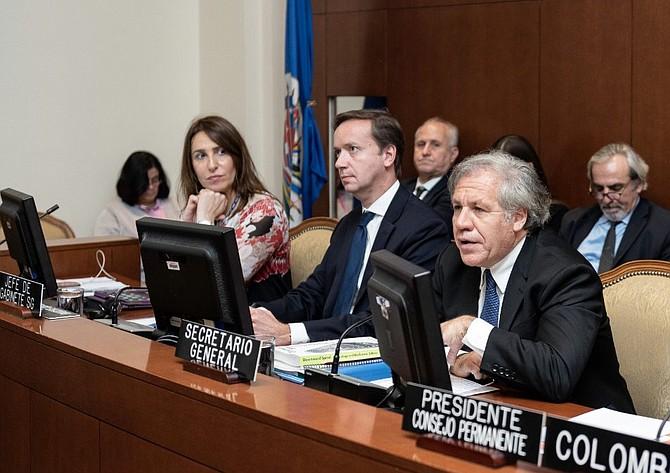 OEA. Secretario General de la OEA, Luis Almagro