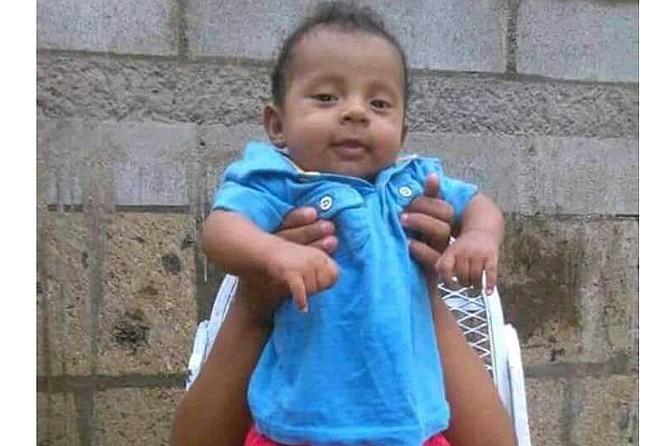 SUCESO. Teyler Leonardo Lorillo Navarrete, el bebé asesinado este sábado