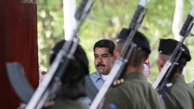 VENEZUELA. Nicolás Maduro en un acto con militares