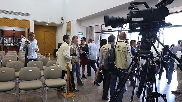 AMÉRICA. Misión de Visitantes Extranjeros de la OEA en Mexico
