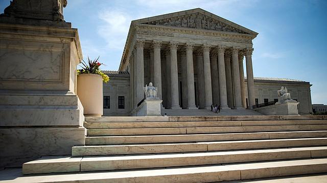 DC. Fotografía de la fachada del Tribunal Supremo, en Washington, el 18 de junio de 2018