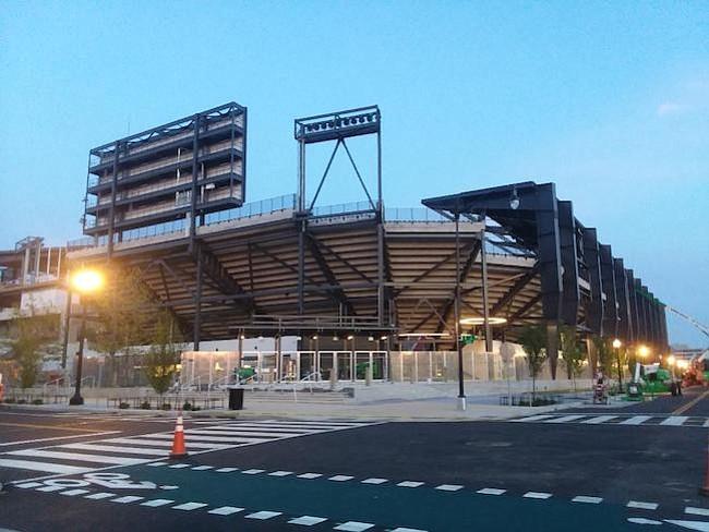 Estadio. El nuevo estadio de DC, en el barrio Buzzard, se abrirá el 14 de julio, un día antes de que termine el Mundial.