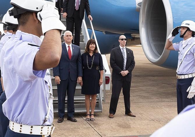 Mike Pence arribó a Brasil con la mirada puesta en crisis de Venezuela