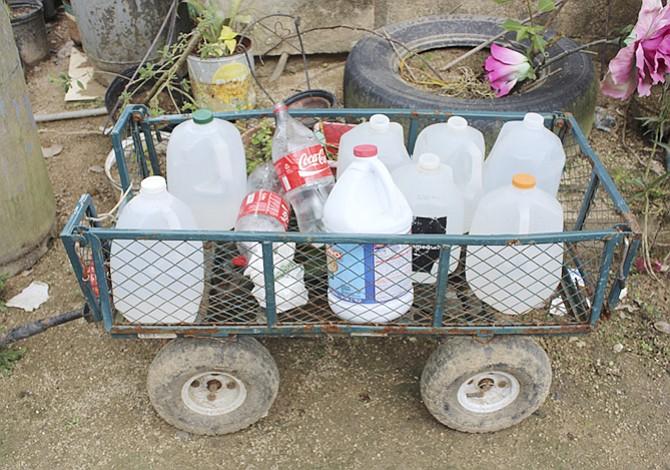 La falta de agua potable